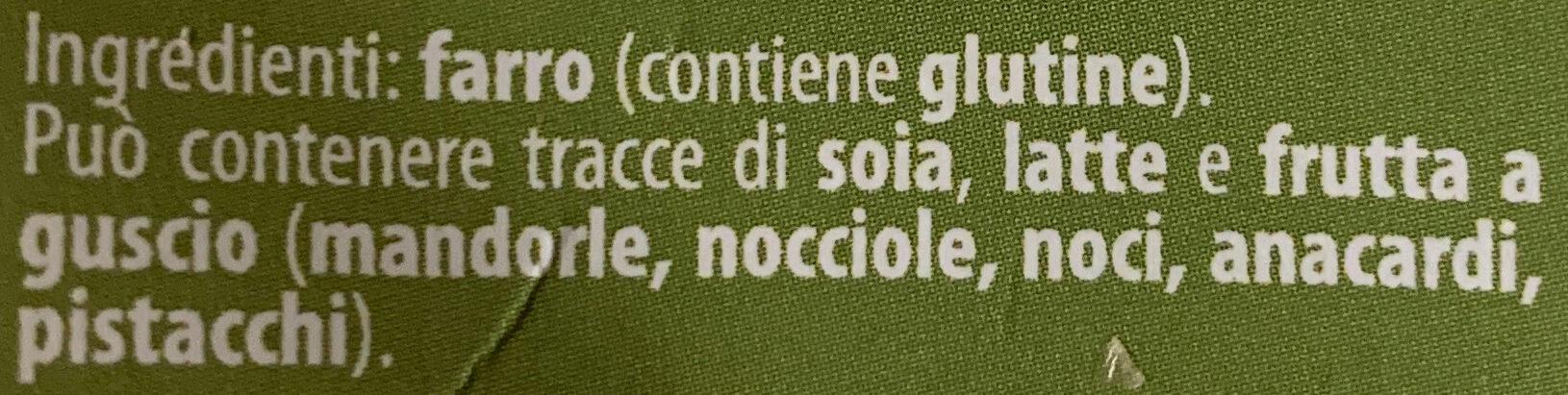 Farro soffiato - Ingredients - it