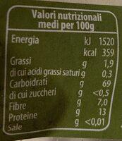 Farro soffiato - Nutrition facts - it
