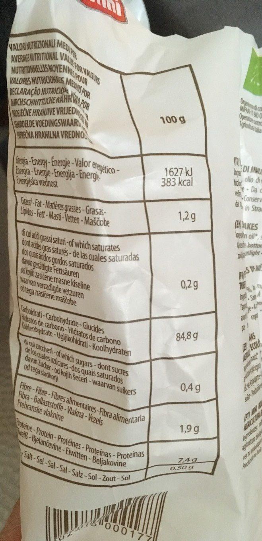 Bio Mini Galette de Mais - Nutrition facts
