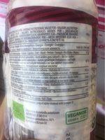 Fiorentini Organic Chia Cake - Información nutricional