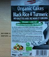 Organic cakes from black rice & turmeric - Prodotto - en