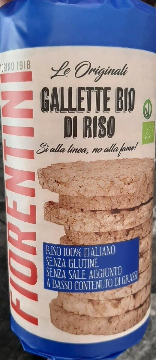 Gallette Bio di Riso - Produit - fr
