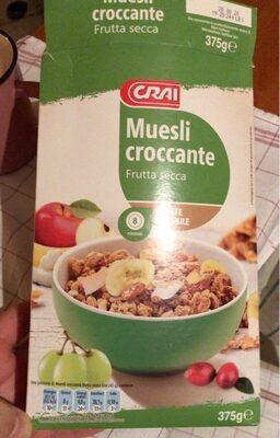 Muesli croccante frutta secca - Prodotto - it