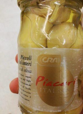 Piccolo carciofini interi - Product