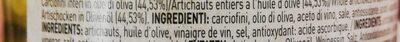 Piccolo carciofini interi - Ingredients