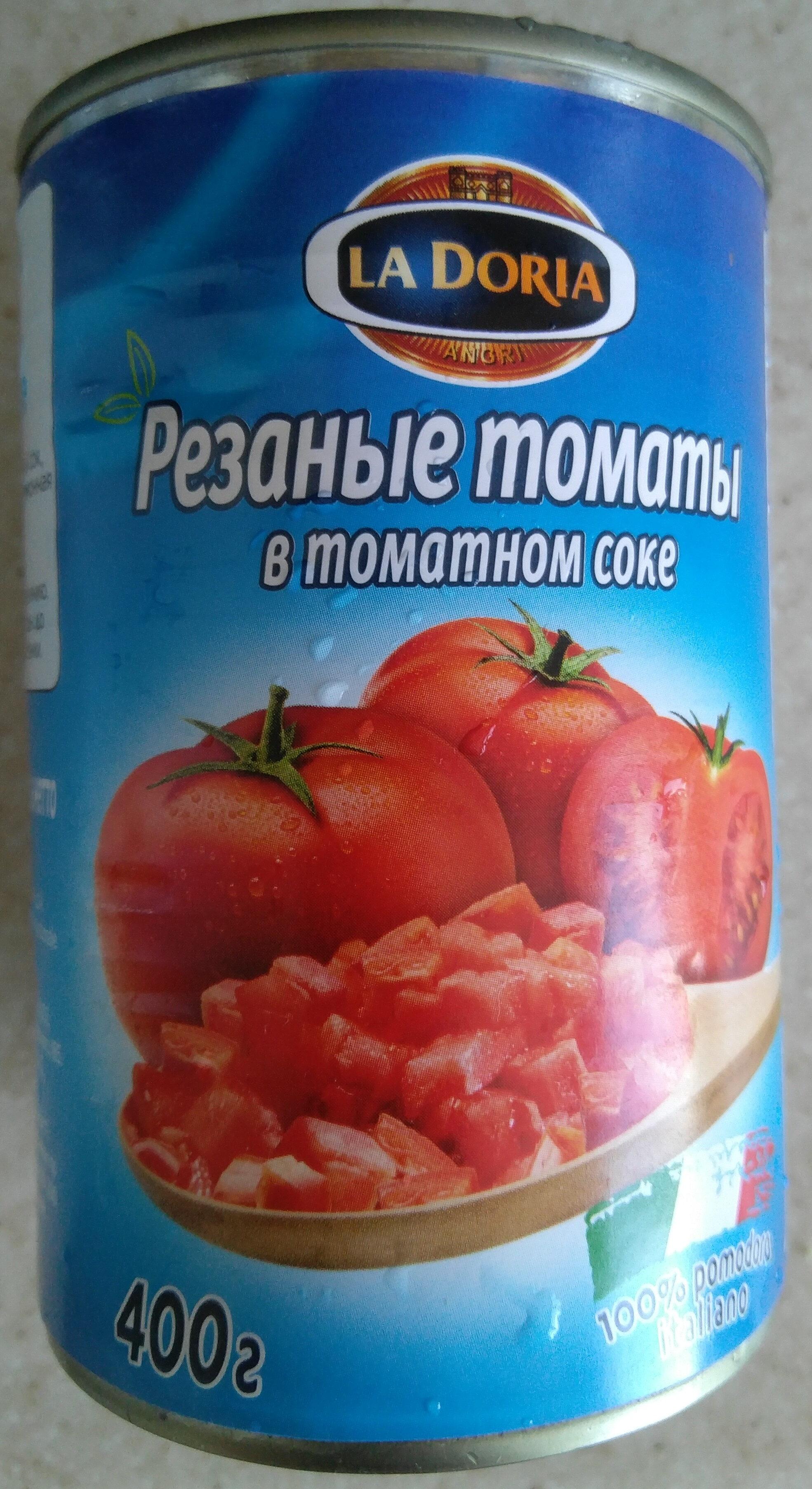 Резанные томаты в томатном соке - Product - ru