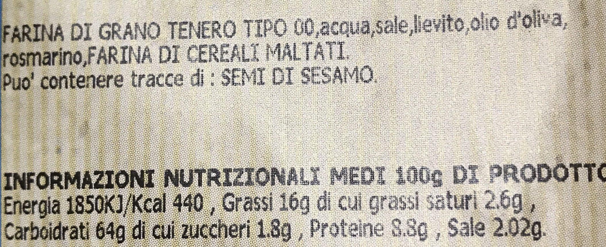 Bruschelle - Ingrediënten