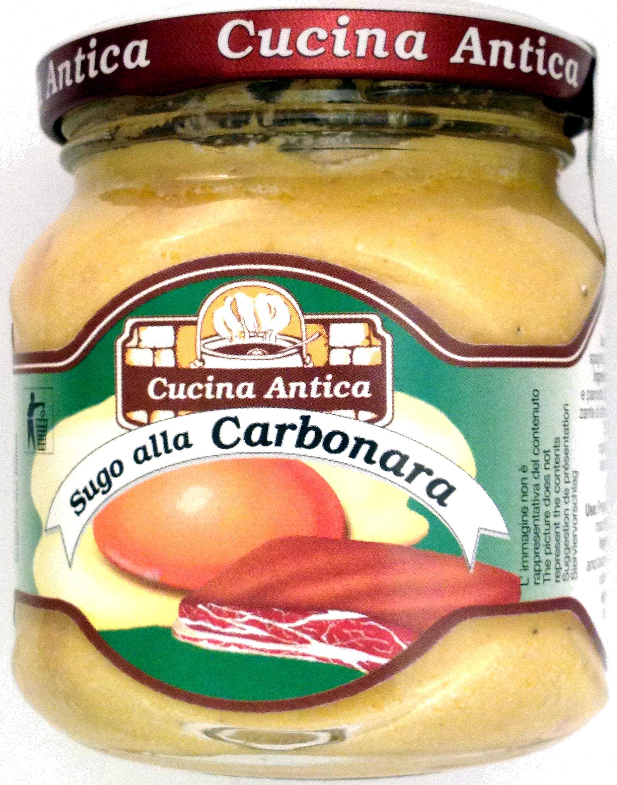 Sugo alla Carbonara - Product