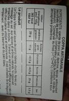 Coppa , 110g - Ingredients