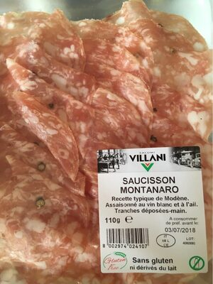 Saucisson montanaro - Product - fr