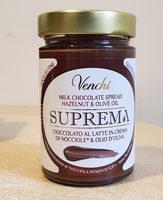 Suprema Cioccolato al latte in crema di nocciole e olio d'oliva - Produit - it
