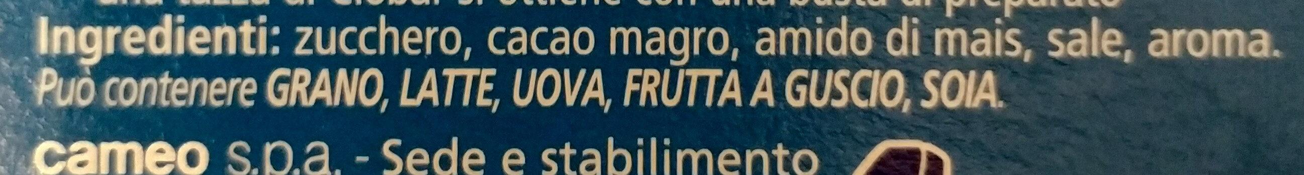 Cameo gusto classico - Ingredienti - it