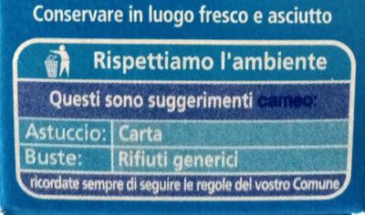 Cameo gusto classico - Istruzioni per il riciclaggio e/o informazioni sull'imballaggio - it
