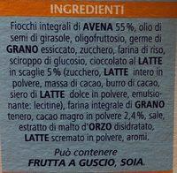 Muesli light chocolat - Ingrediënten - fr