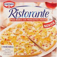 Cameo ristorante pizza bianca con prosciutto e patate - Product - it