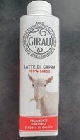Latte di capra - Prodotto - fr