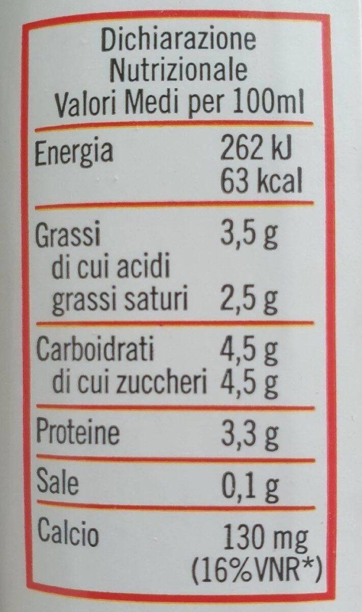 Latte di capra - Valori nutrizionali - fr
