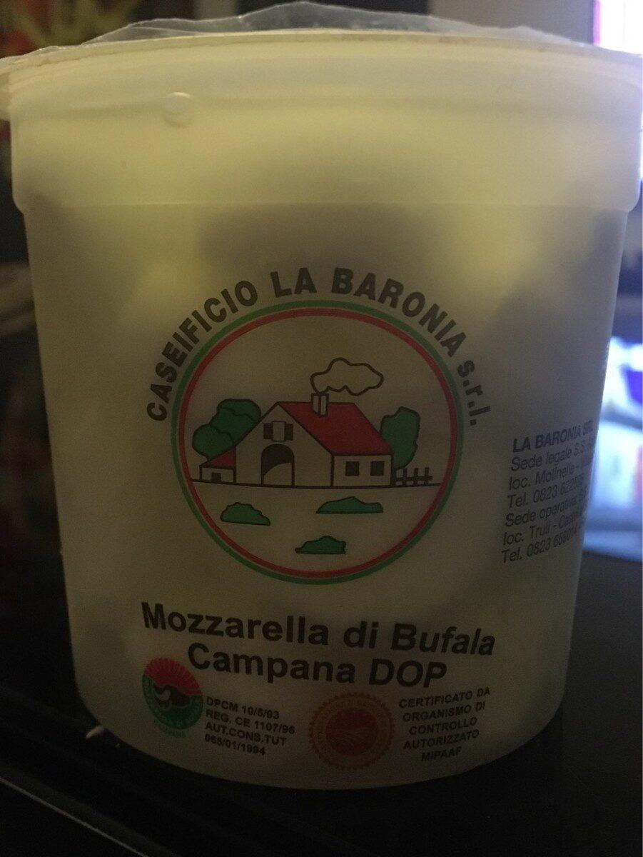 Mozzarella di bufala - Produit - fr