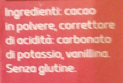 Cacao amaro - Ingredienti - it