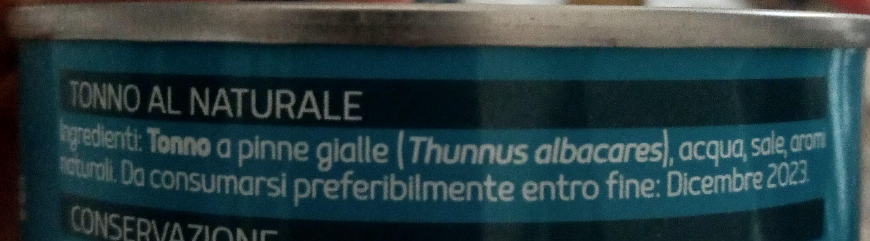 Selex Tonno al Naturale - Ingredienti - it