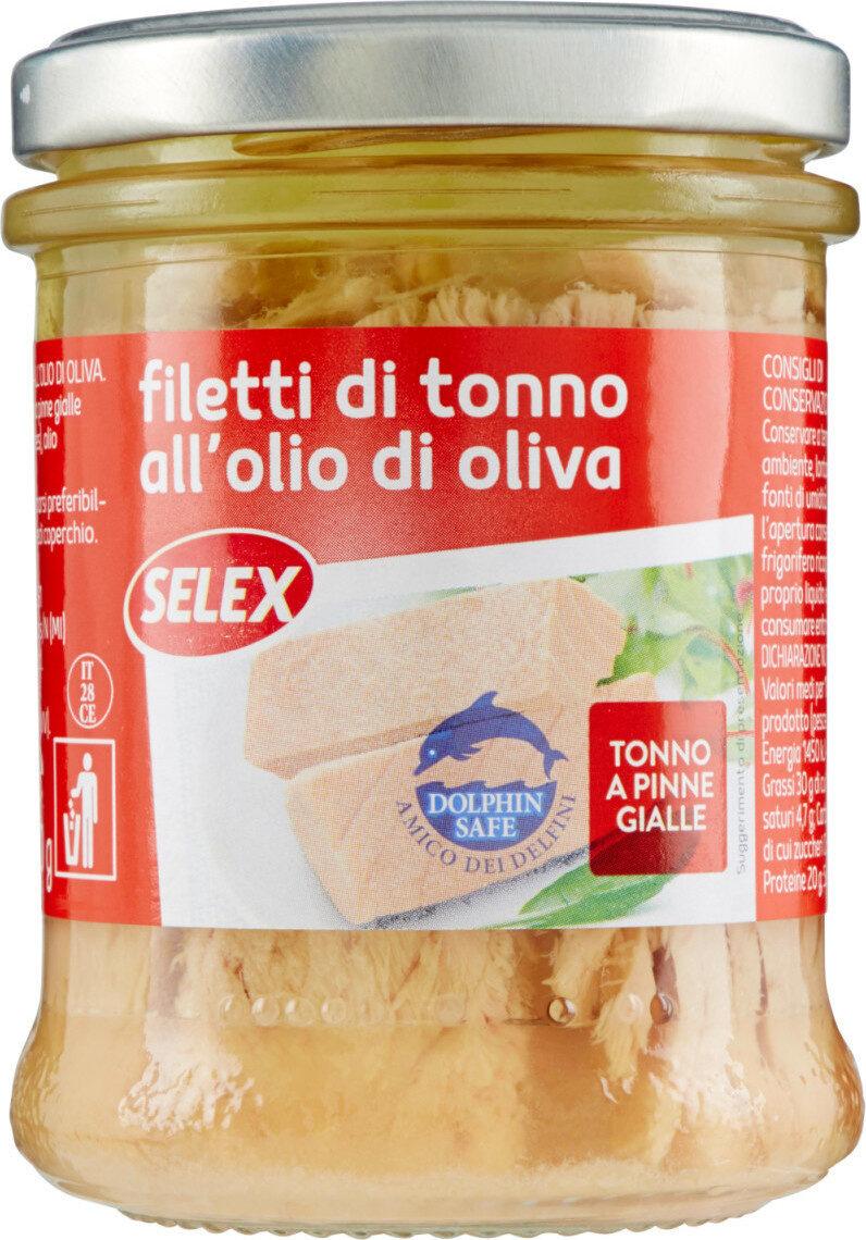 Filetti di tonno all'olio di oliva - Prodotto - it