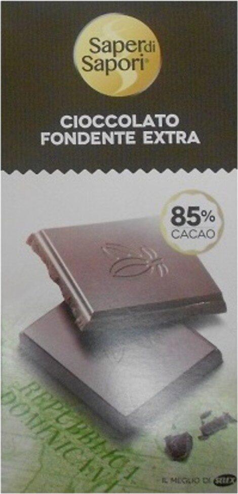 Tavoletta cioccolato fondente - Prodotto - fr