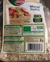 Muesli Frutta Bio - Product - it