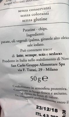 Classica - Ingrédients