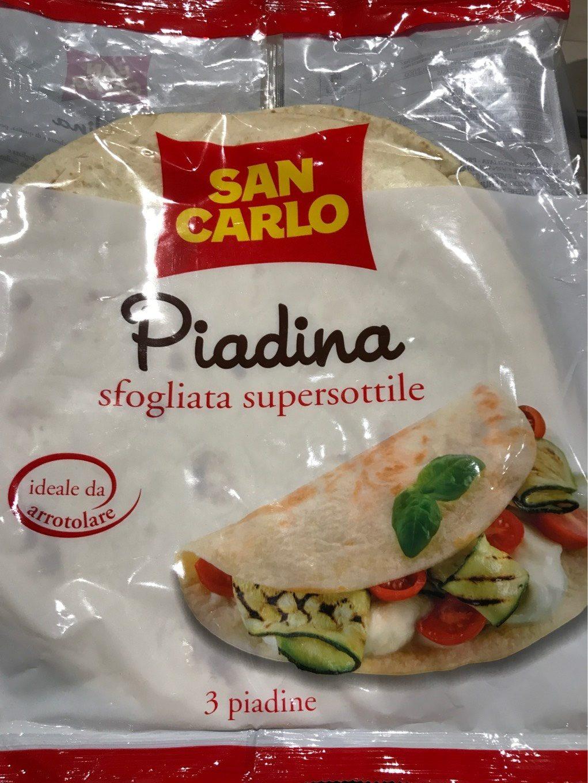 San Carlo - Piadina Sfogliata Supersottile - Produit - it