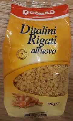 Ditalini Rigati all'uovo - Prodotto