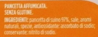 Pancetta Affumicata a Cubetti - Ingredients - fr