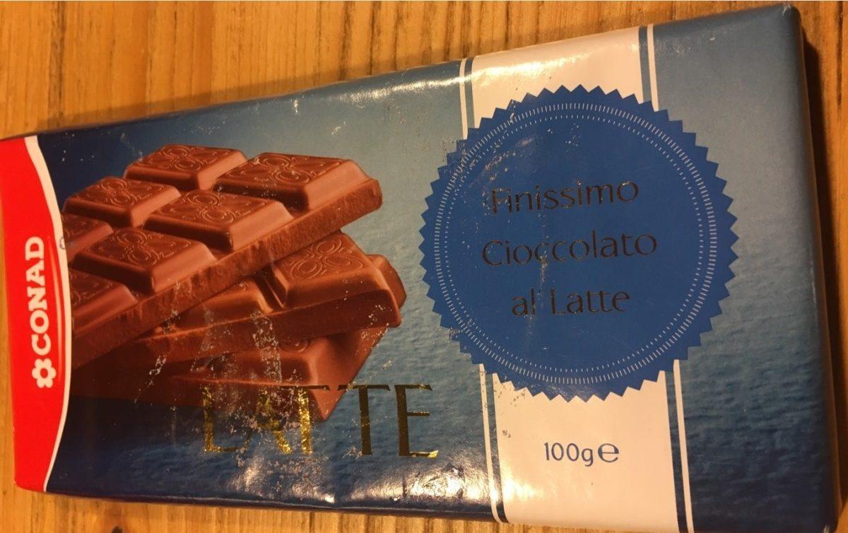 Finissimo cioccolato al latte - Product