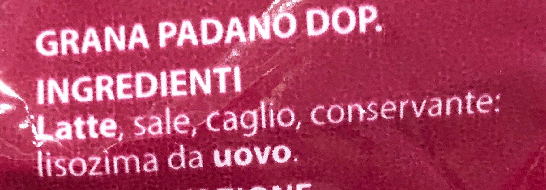 Grana Padano DOP Bocconcini - Ingredients