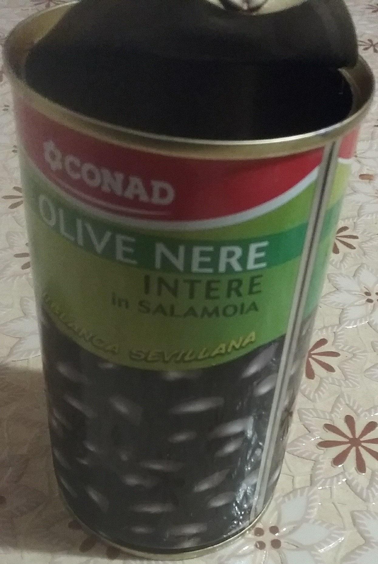 Olive nere intere in salamoia - Prodotto - it