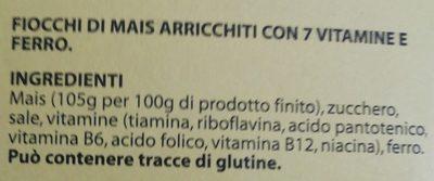 Corn Flakes Classici - Ingredients - it
