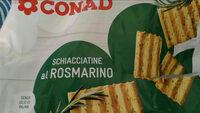 schiacciatine al rosmarino - Product - it