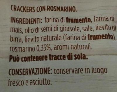 schiacciatine al rosmarino - Ingrediënten - it