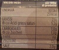 Würstel puro suino - Voedingswaarden - en