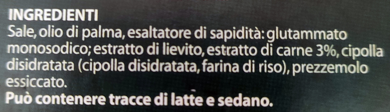 Dado classico - Ingrediënten - it
