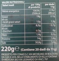 Dado classico - Voedingswaarden - it