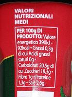 Ketchup piccante - Valori nutrizionali - it