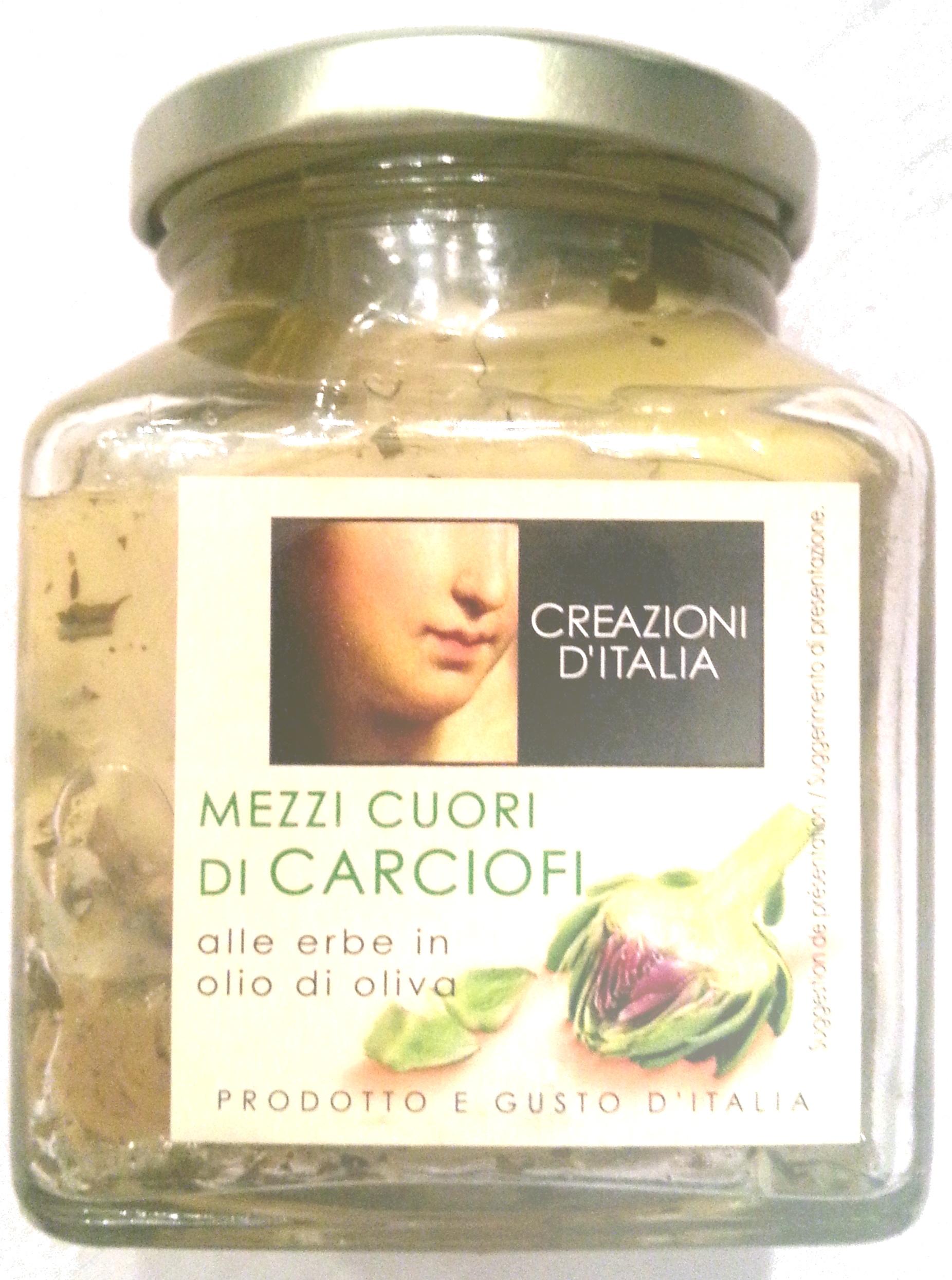 Mezzi Cuori Di Carciofi - Product