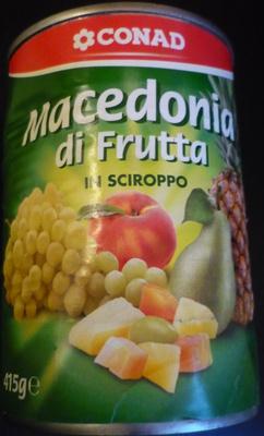 Macedonia di Frutta in Sciroppo - Produit