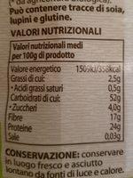 Fagioli Cannellini - Nutrition facts - it