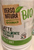 Latte Parzialmente Scremato Biologico (Conad) - Produit - fr