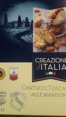 Cantucci toscani IGP alle mandorle - Product - fr