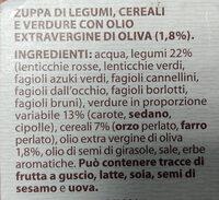 Zuppa Toscana Verso Natura - Ingrediënten