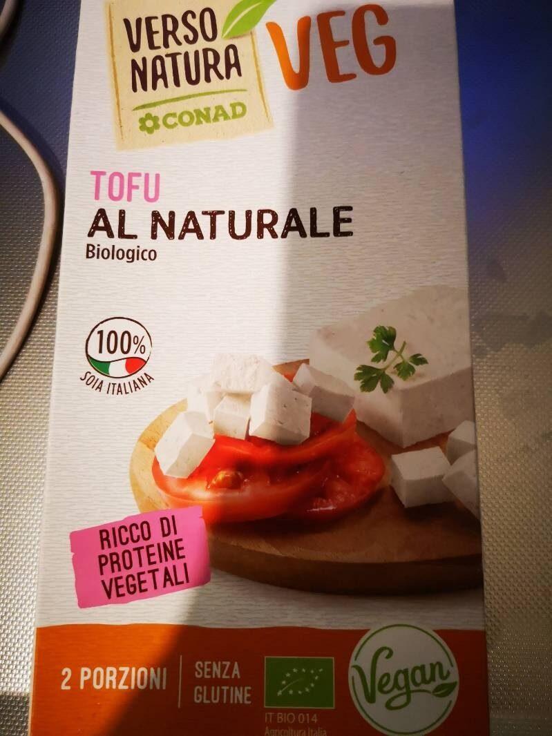 Tofu al naturale - Producto
