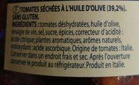 Pomodori secchi di Puglia - Ingrédients - fr