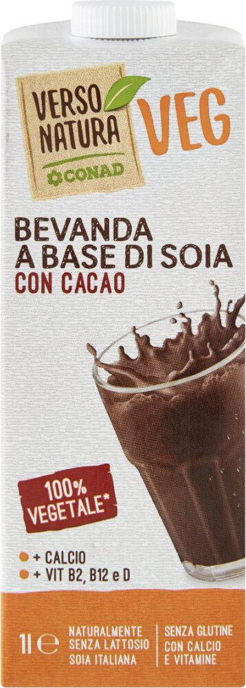Bevanda a base du soia con cacao - Prodotto - it